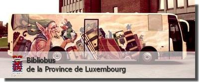 bibliobus de la province de luxembourg