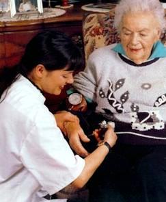 infirmières à domicile