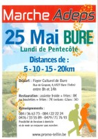 Bure : Marche ADEPS