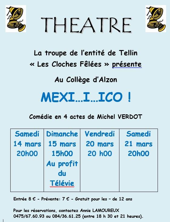 "Bure : Théâtre ""Les Cloches Fêlées"" : ""Mexiiiiiiico"""